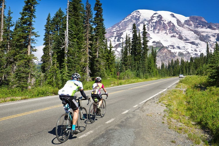 Barclays bikes, London